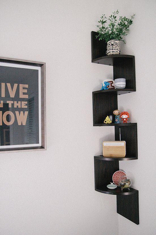 Decorative Shelves 1 Bedroom Corner Corner Shelf Ikea