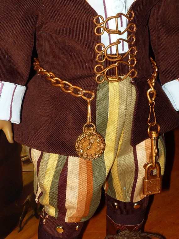 Steampunk Clothes for American Girl Dolls by