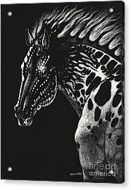 Dragon Horse Acrylic Print by Stanley Morrison
