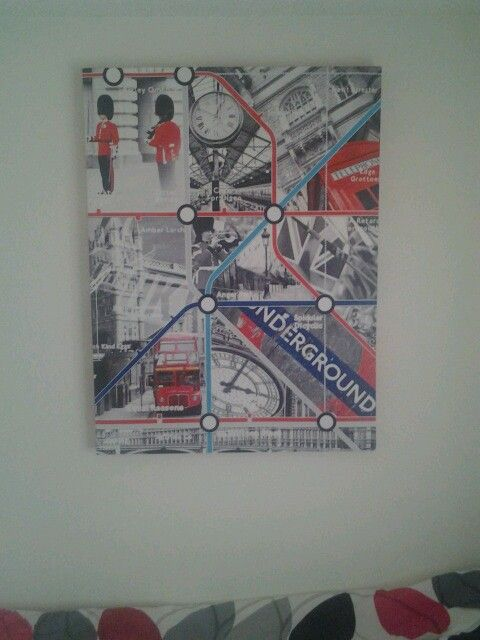 This bad boy just went up. I absolutely love my London art!!! Apparently, I can hang up paintings now.