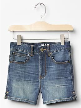 1969 high-rise denim shorts - Brand New Gem: The High-Rise Short. Reach new styling heights with a higher rise and cool girl washes.