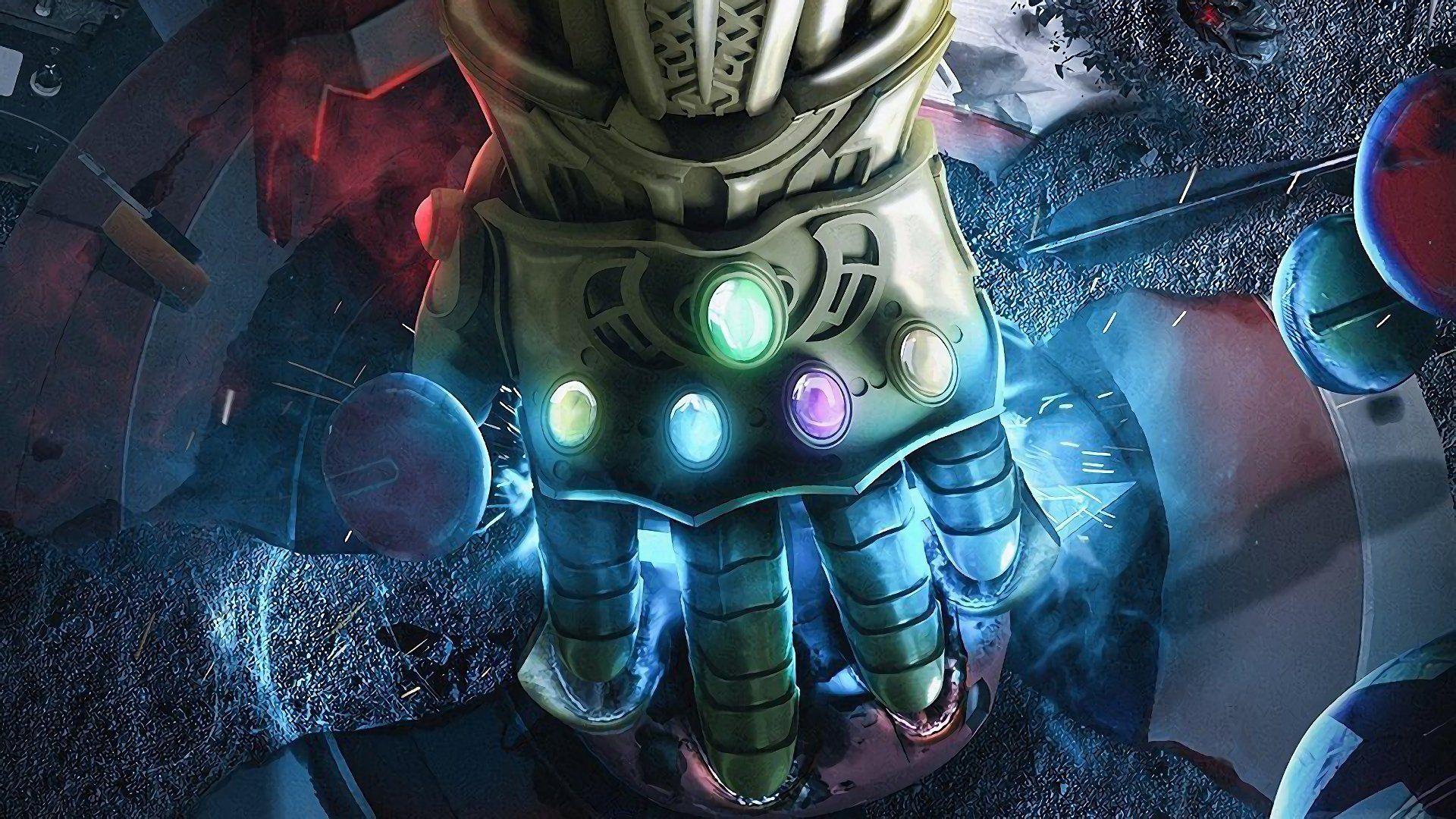 Movie Avengers Infinity War Infinity Gauntlet Gauntlet Avengers Thanos Wallpaper Avengers Avengers Infinity War Creative Graphics