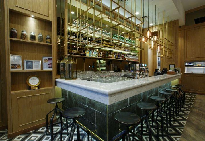 Zaffron kitchen restaurant by jp concept singapore · restaurant interior designrestaurant