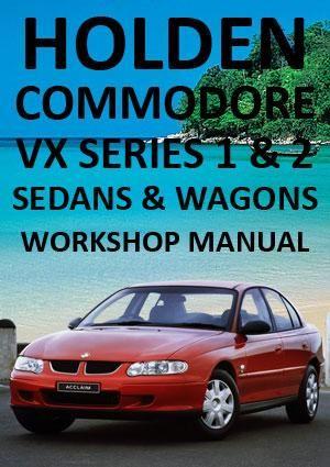 holden commodore and calais vx 2000 2002 workshop manual sedans rh pinterest com vz commodore workshop manual free download vt commodore workshop manual