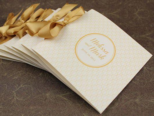 free printable wedding program templates word