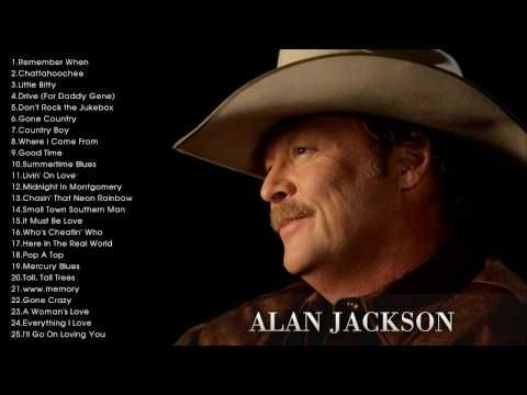 Alan Jackson Precious Memories Gospel Songs Youtube
