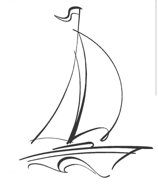 Tattoo easy drawings pencil china painting line drawing crayon also resultado de imagen para small basic boat boatstattoo rh pinterest