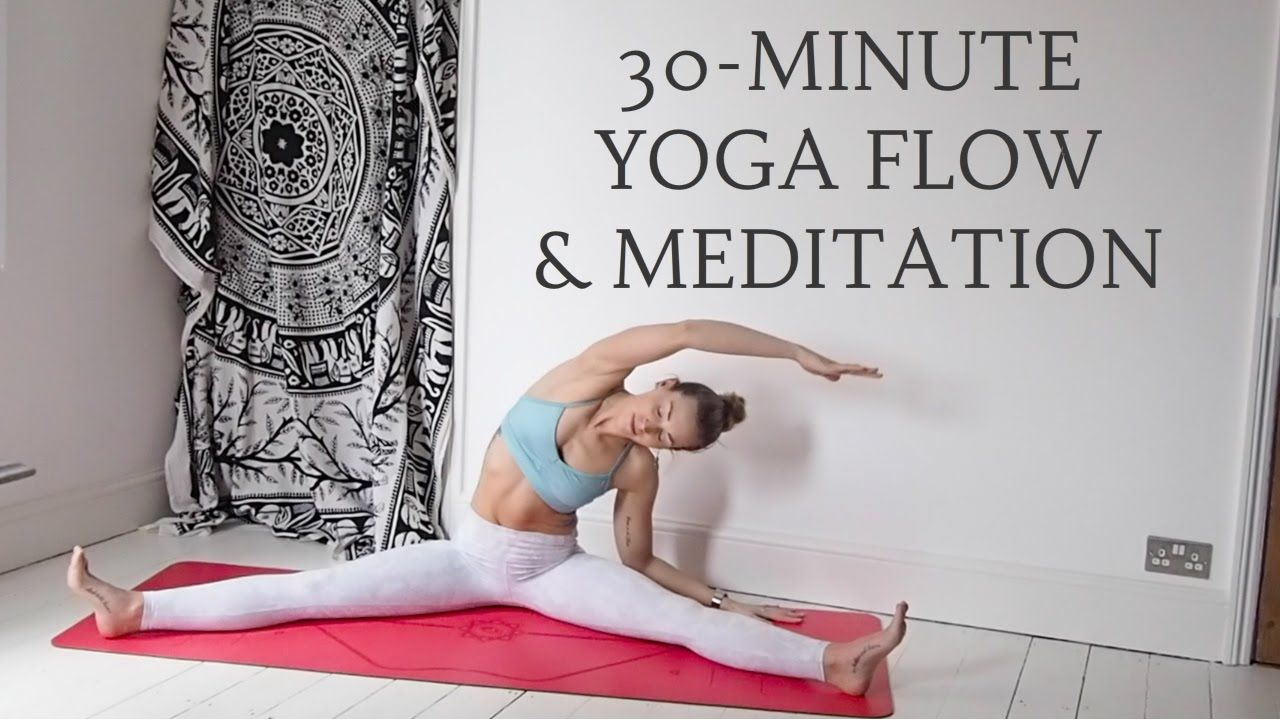 YOGANUARY 29 30Minute Slow Yoga Flow & Meditation