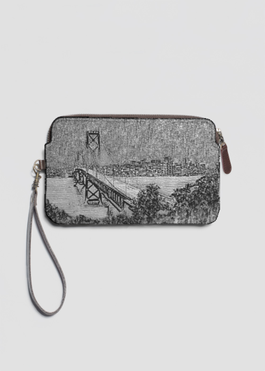 Leather Statement Clutch - Encouragement by VIDA VIDA Low Price Fee Shipping Sale Online Cheap Sale Excellent Cheap Price Buy Cheap Ebay IL3D7eWbG3