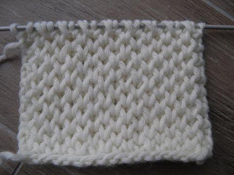 Honeycomb Brioche Knitting Stitch Patterns Nid Dabeille