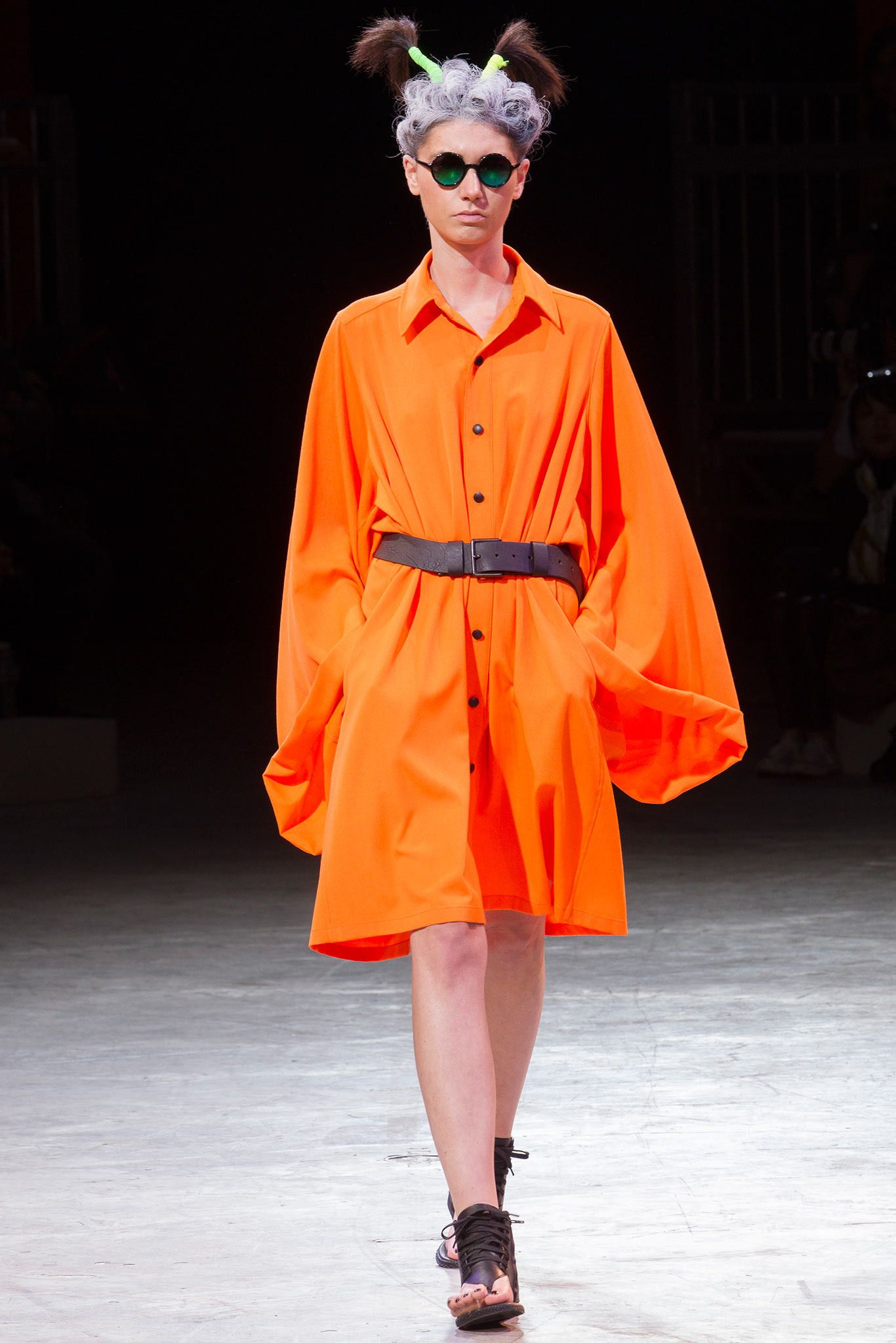 Yohji Yamamoto Spring 2014 Ready-to-Wear - Collection - Gallery - Style.com