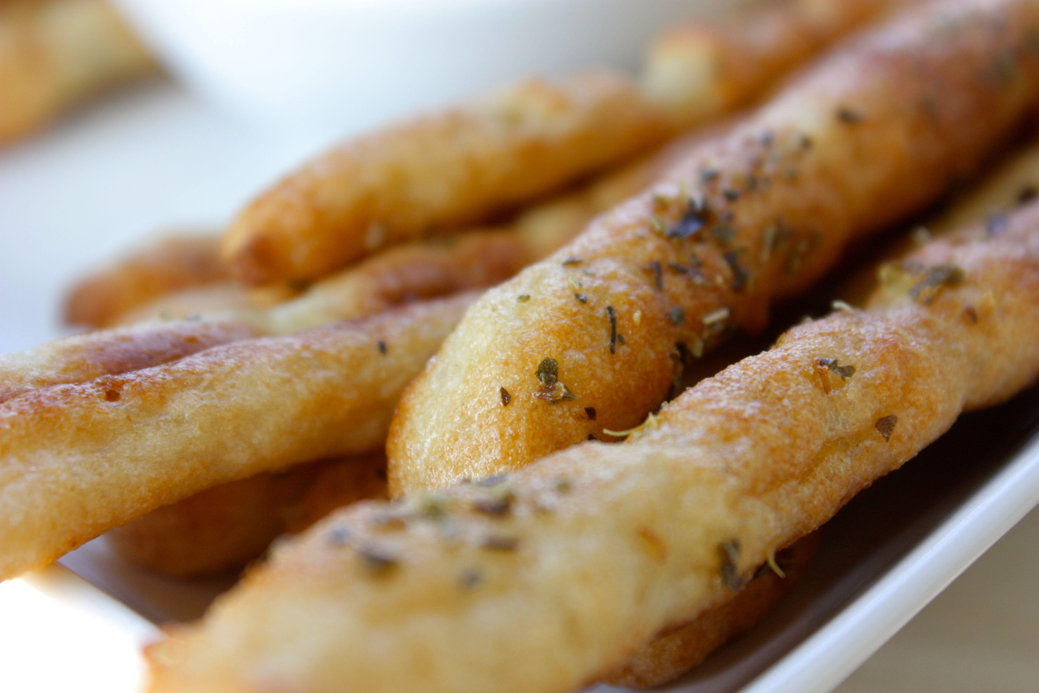 Os tradicionais palitinhos de pão agora versão sem glúten. Ainda ...