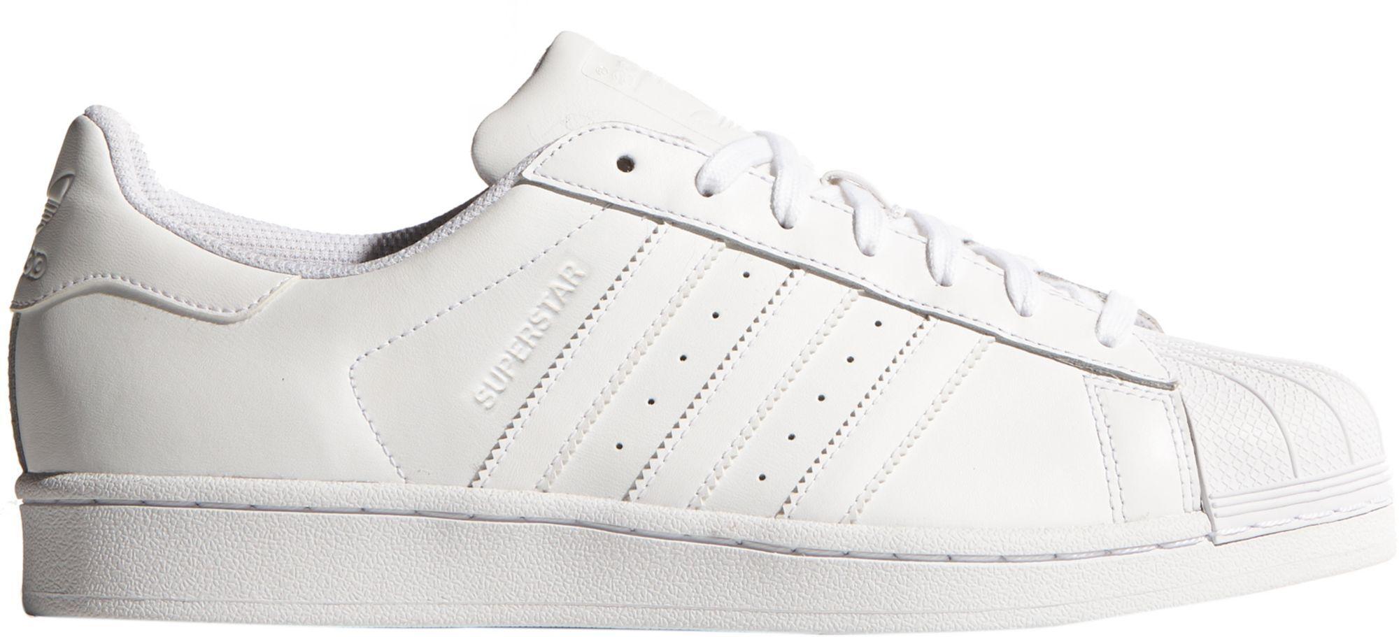 timeless design 25b9d 9817a adidas Originals Men's Superstar Shoes, Size: 8.0, White ...