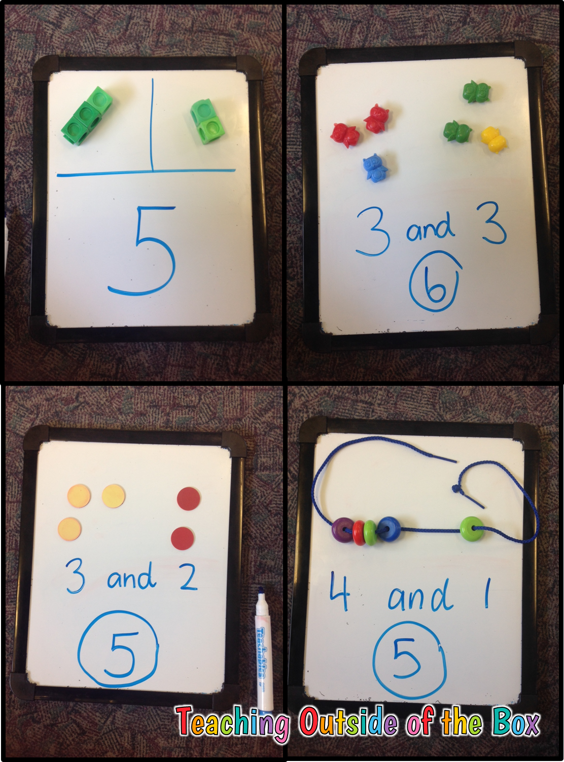 Teaching Outside Of The Box Decomposing Numbers