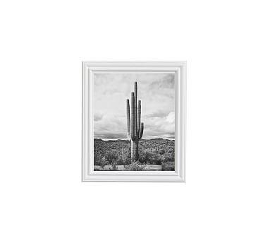 "Saguro Framed Print by Jennifer Meyers, 11x13"", Ridged Distressed Frame, White, No Mat"