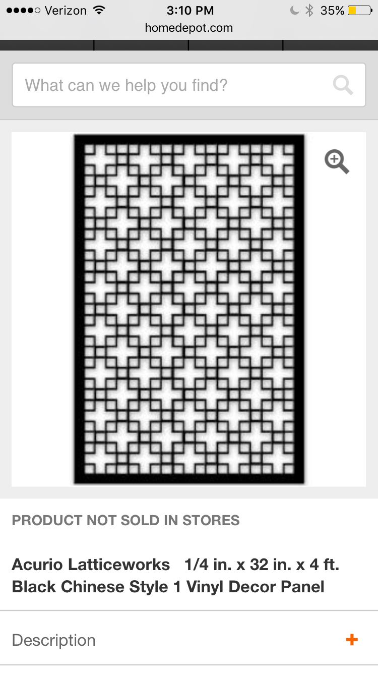 Wood Lattice Home Depot Accent Wall Decorative Screen Panels