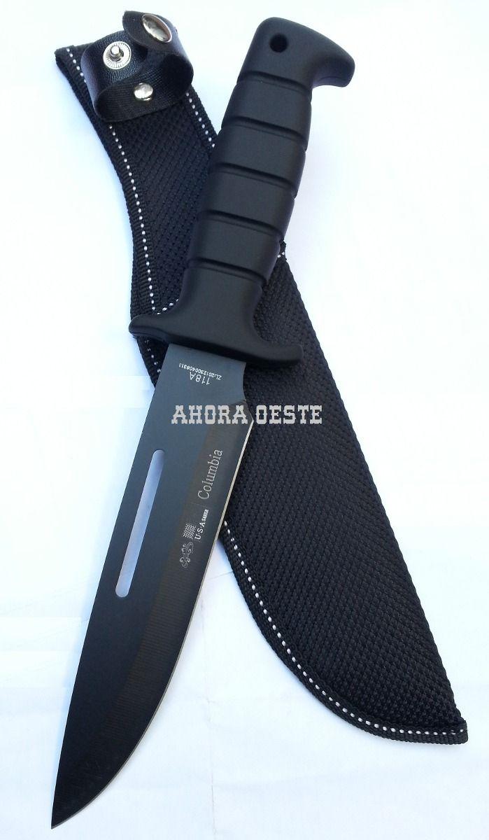 Cuchillo Tactico Supervivencia Columbia U S A 118a 199 99 Cuchillos Tacticos Cuchillos Cuchillos De Combate
