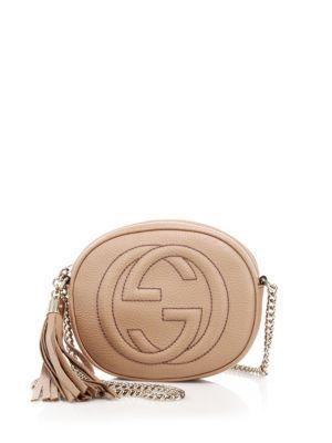 eae69b93e271 GUCCI Soho Leather Mini Chain Bag. #gucci #bags #shoulder bags #leather  #lining #linen #cotton #