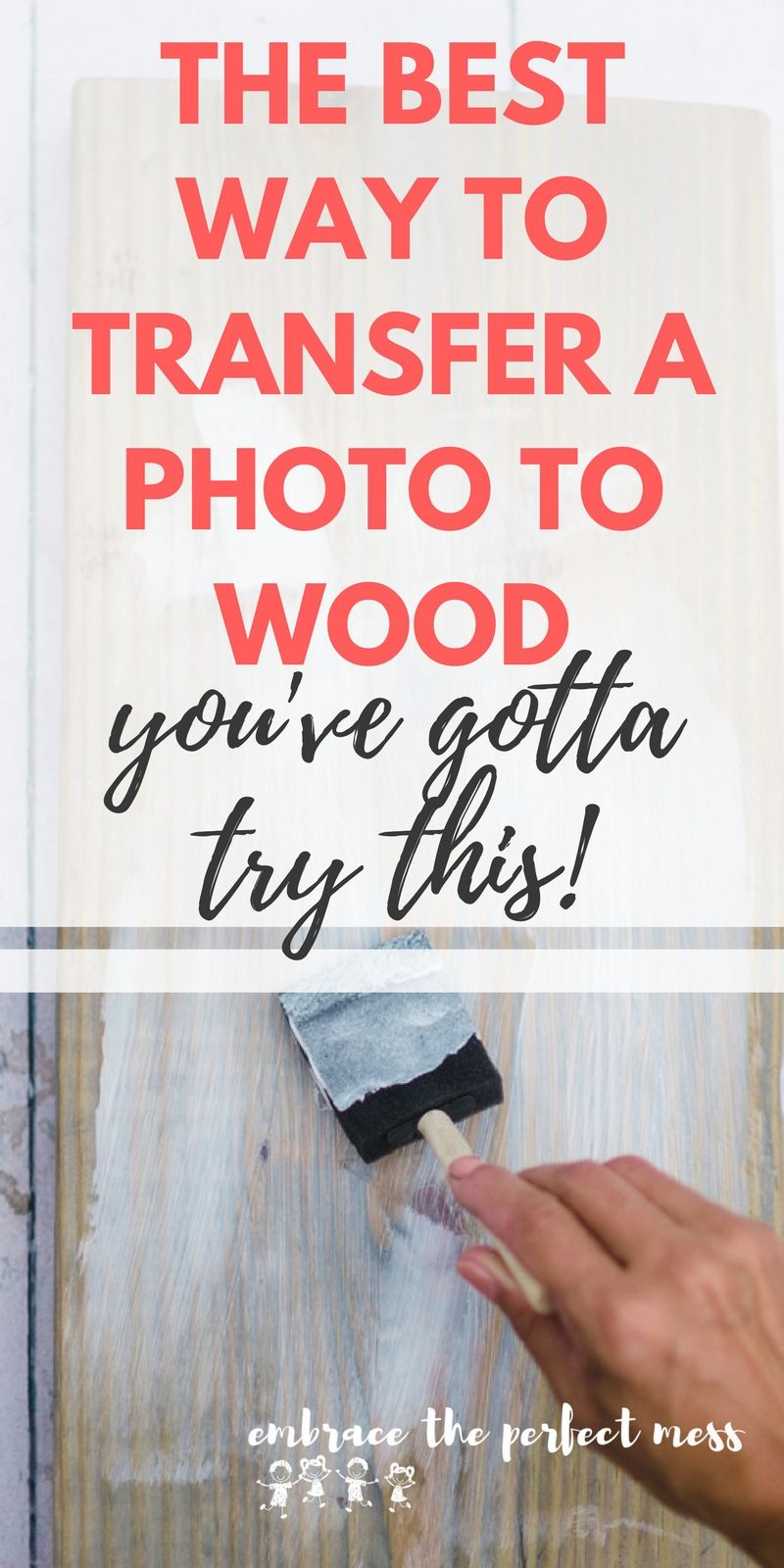How To Transfer A Photo Onto Wood Photo Onto Wood Photo On Wood