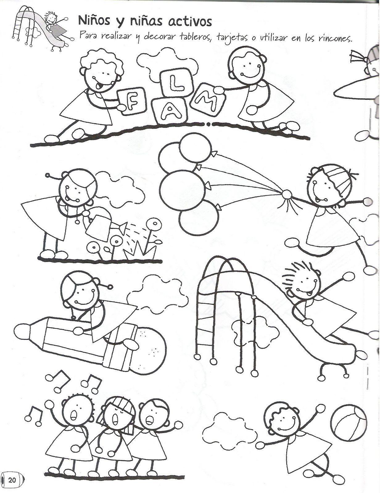 Pin De Brenda L En Materiales Nivel Incial Dibujos Sencillos Para Niños Distintivos Para Niños Colorear Para Niños