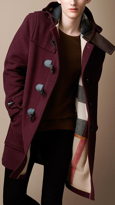 d7392ee90 Burberry - DOUBLE-FACED WOOL DUFFLE COAT | the garment | Duffle coat ...