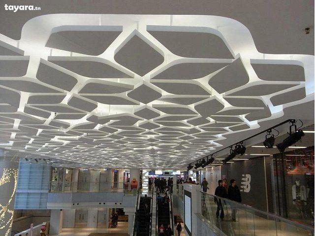 D coration placoplatre design mat riaux pinterest for Materiaux faux plafond