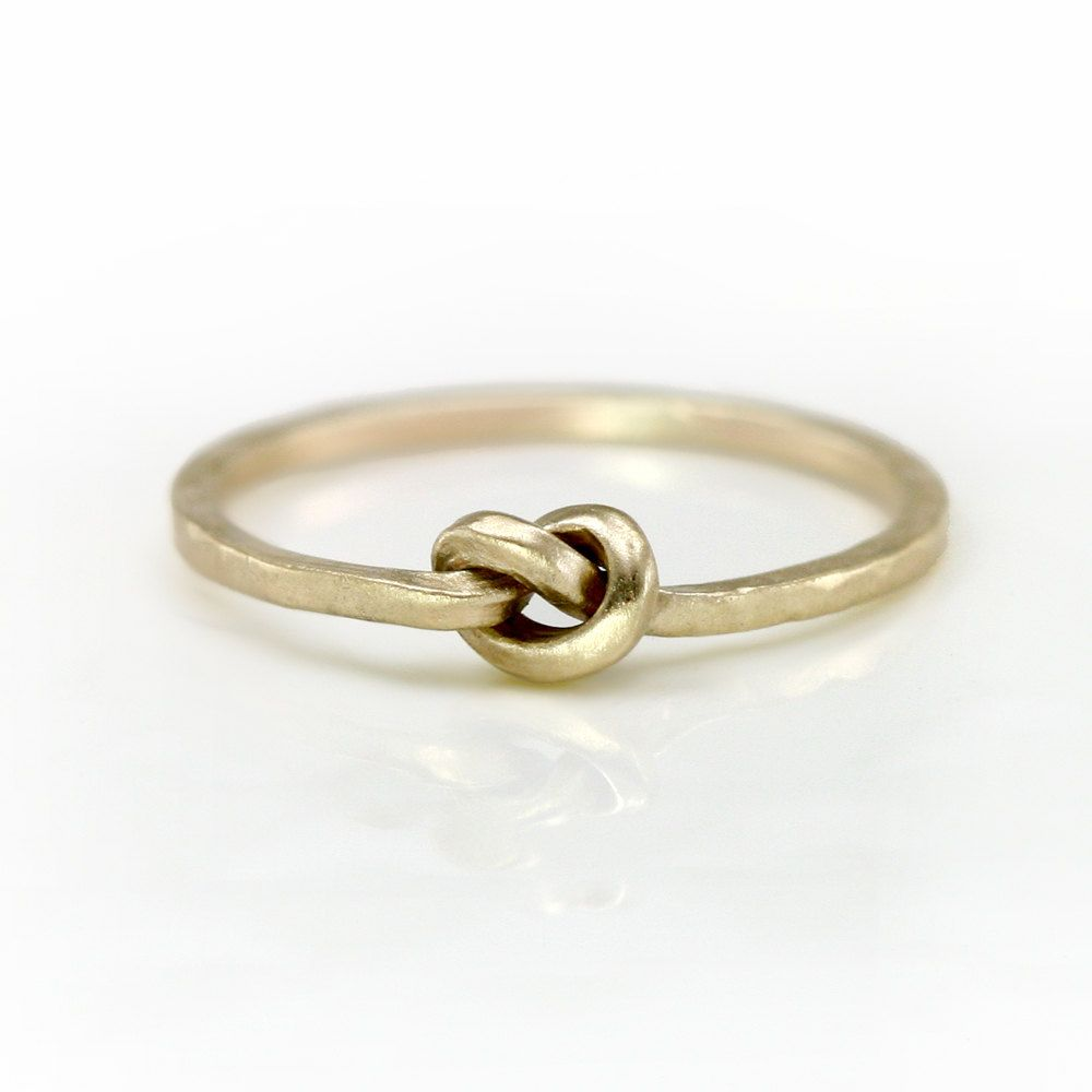 14k Gold Knot Ring by Scarlett Jewelry #jewelry #knot #gold #ring