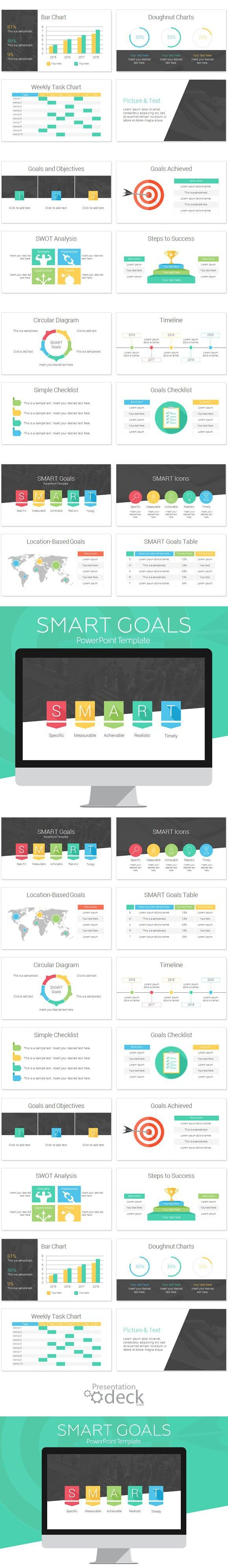 Smart Goals Powerpoint Infographic Powerpoint Templates