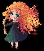 : Disney Doll : Merida by MissElysium
