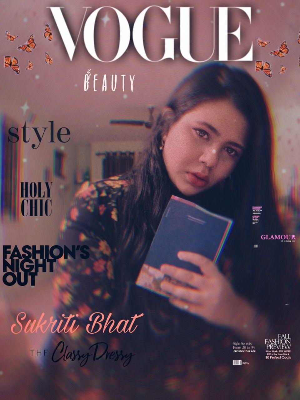 Vogue Challenge Vogue Beauty Glamour Fashion Stylish Fashion