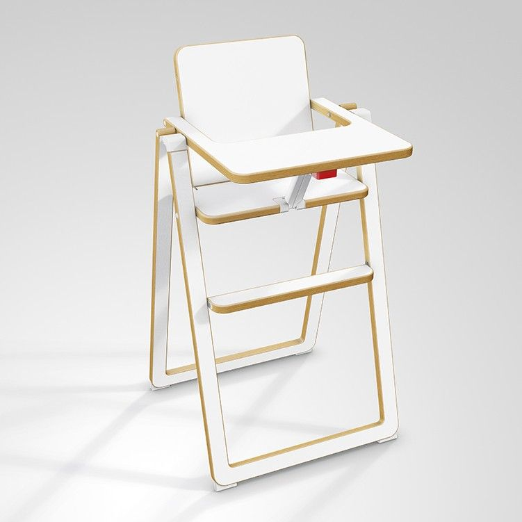 Chaise Haute Supaflat Blanc Baby High Chair High Chair Chairs For Small Spaces
