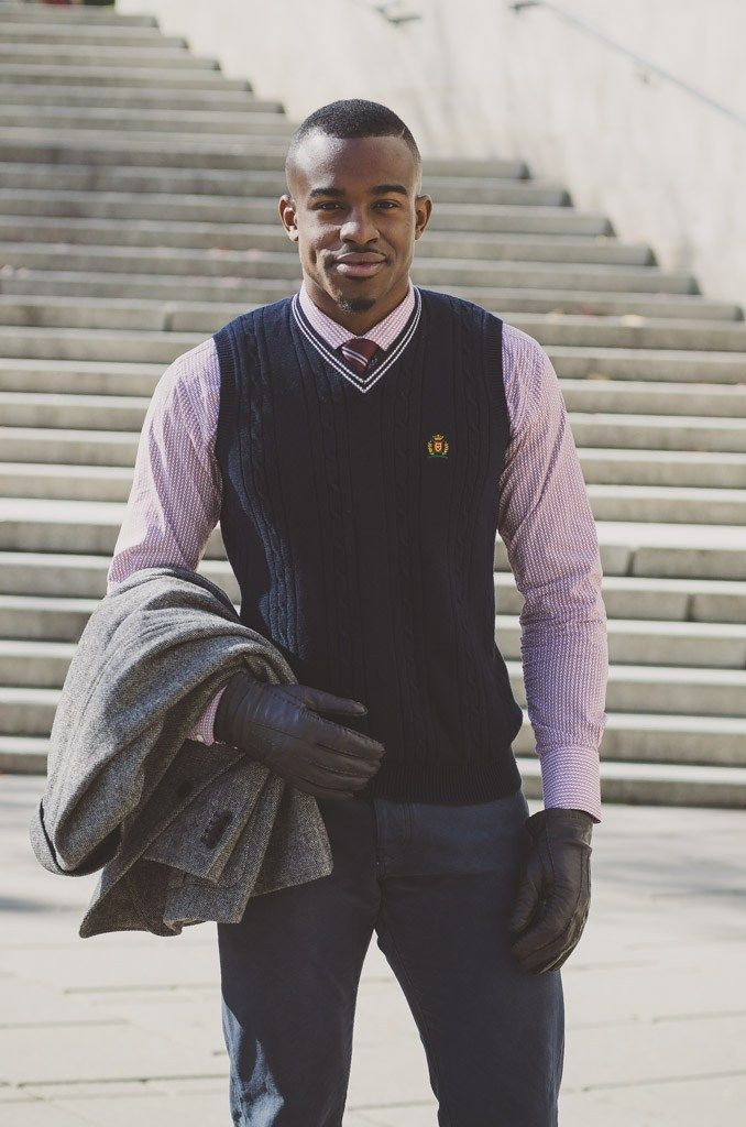 Ottawa Fashion Black Male Model Handsome Black Man Ivy