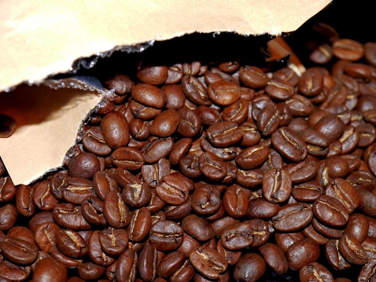 Coffee, Coffee Bean, Packaging, Cafe, Brown coffee,