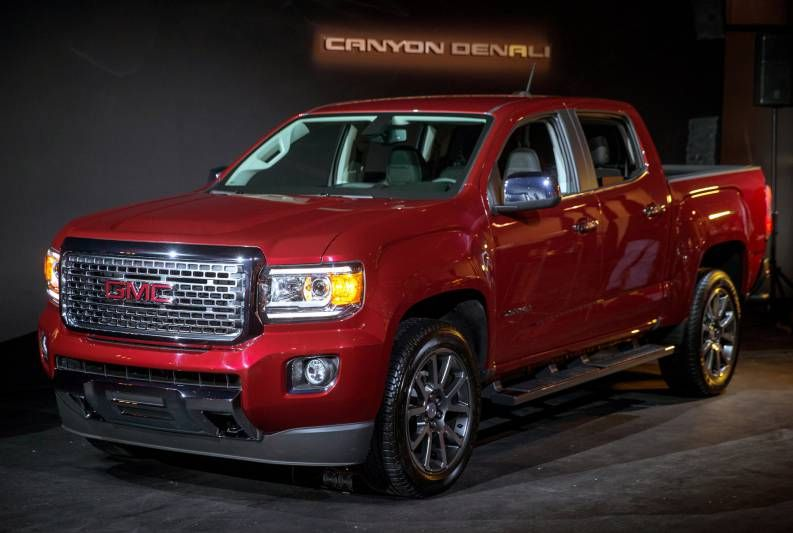 2017 Gmc Canyon Denali Review Price Release Date Specs Gmc