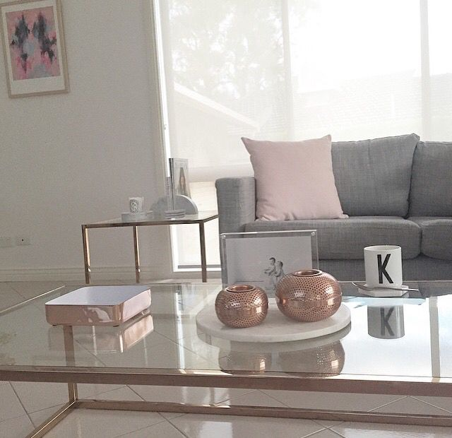 Best Blush Copper Grey Blush Living Room Living Room 640 x 480
