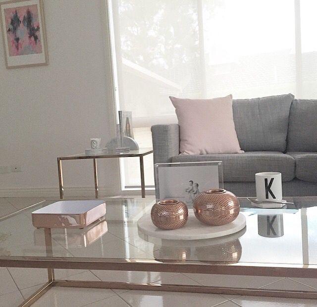 Blush / Copper / Grey | Tiny spaces | Studio Apartment ...