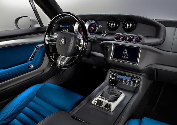 Equus Bass 770: 21st Century Pony Car   Interior