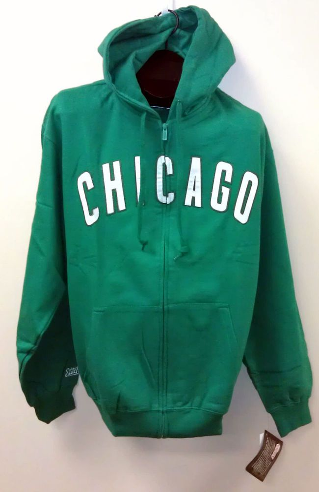 brand new 0ce45 7cadf NEW/NWT Chicago Cubs Hoodie RARE GREEN - Size: LARGE MLB ...