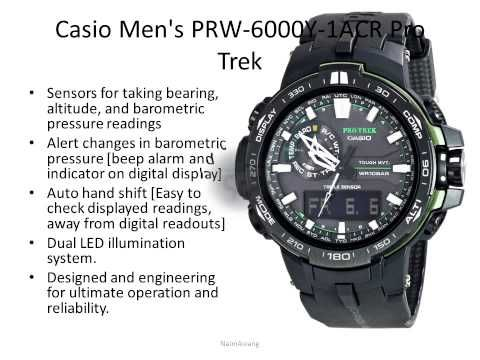 ▶ Top 10 Casio Protrek Reviews - Best Casio Watches 2015 - YouTube