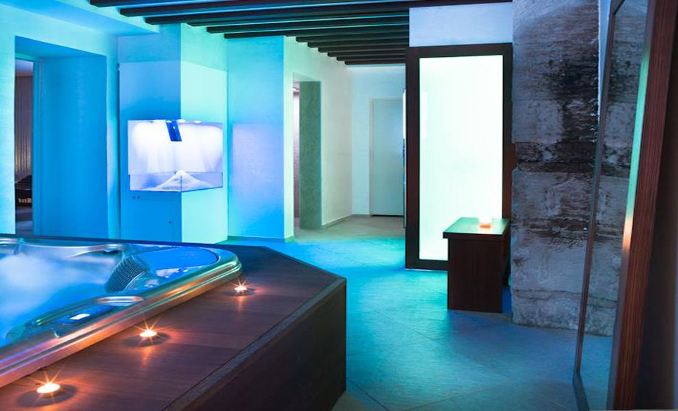 The Blue Spa Of Verona A Wonderful Wellness Area By
