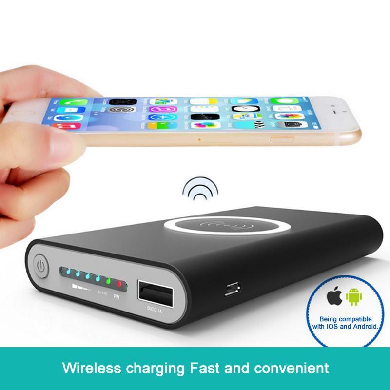 "Résultat de recherche d'images pour ""Wireless Power bank20000mah Power Bank External Battery quick charge Wireless Powerbank Portable Mobile phone Charger Battery"""