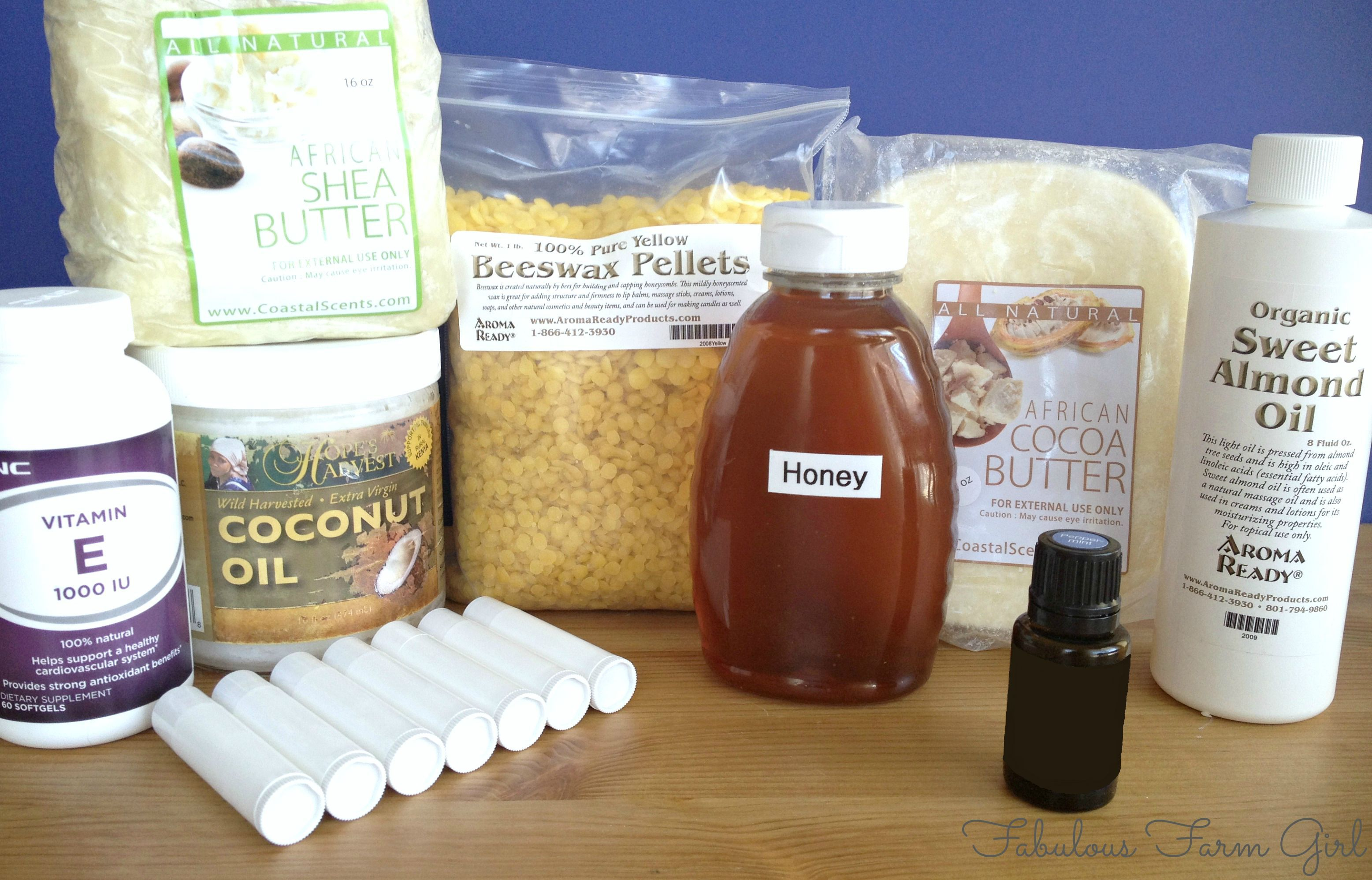 Honey Mint Lip Balm  Ingredients to use and WHY  Never overpay for high quality lip balm again.