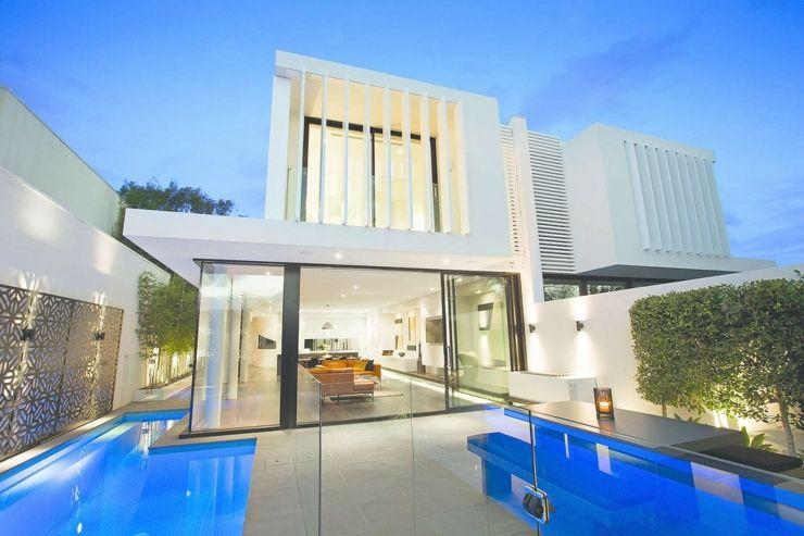 Maisons mitoyennes à lu0027architecture contemporaine Villas