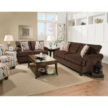 Metro Living Room Sofa Loveseat