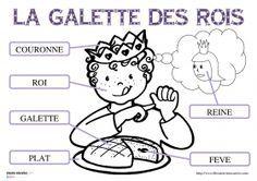 Vocabulaire de la galette des rois