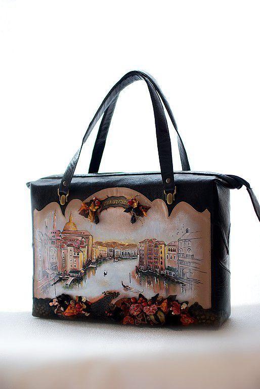 eb89d03520e5 Женские сумки ручной работы. Ярмарка Мастеров - ручная работа. Купить  Rachelle-Viva Venezia. Handmade.