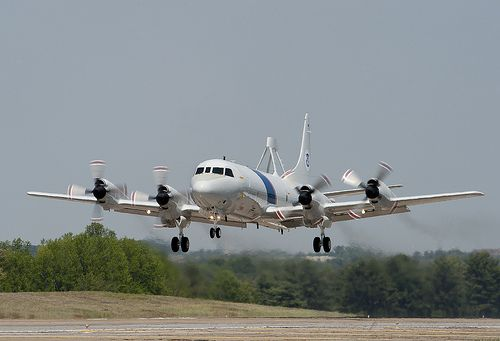 P 3 Orion Delivered Ahead Of Schedule Orion Lockheed Aircraft Propeller