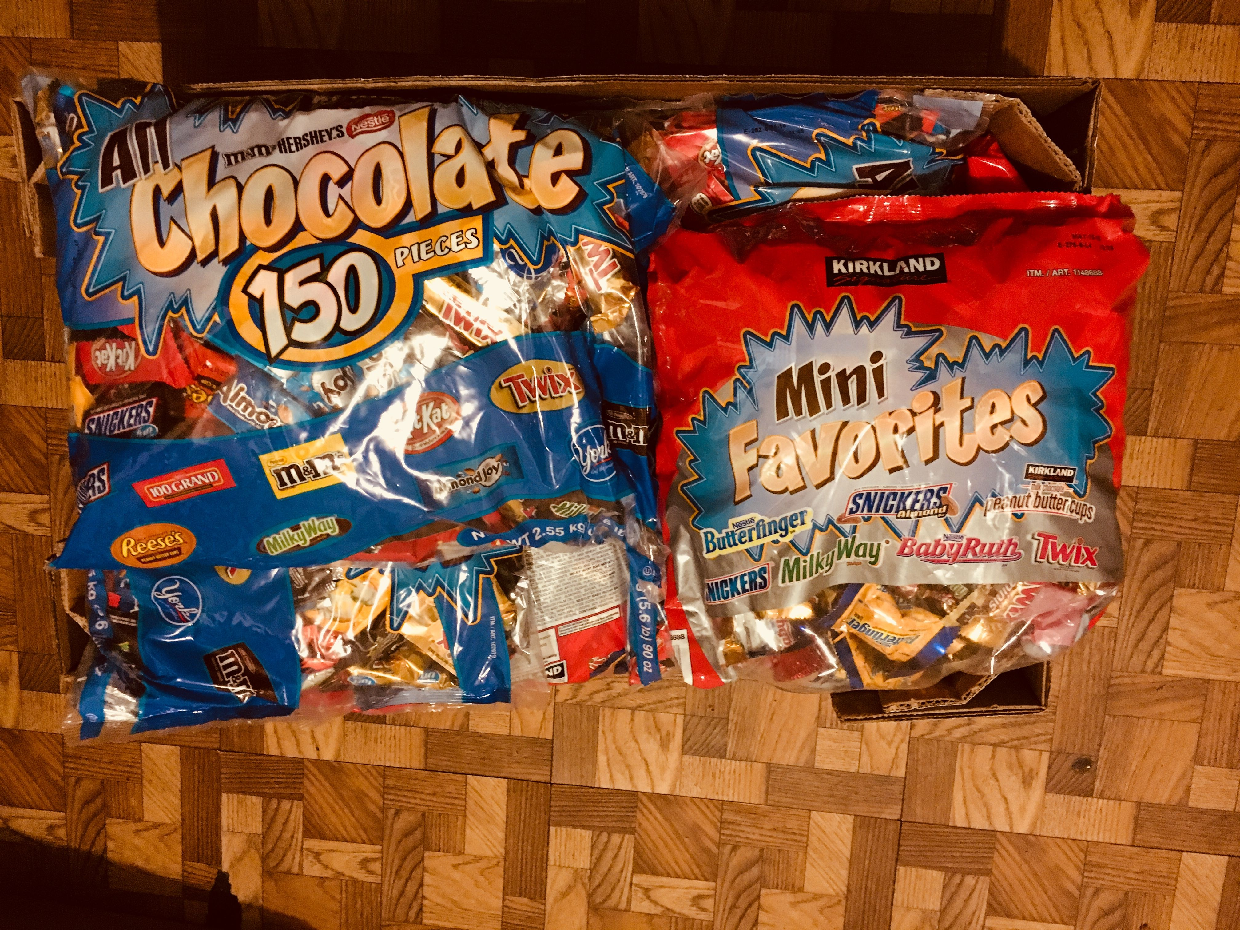 We are absolutely ready for HALLOWEEN) Twix, Pop tarts