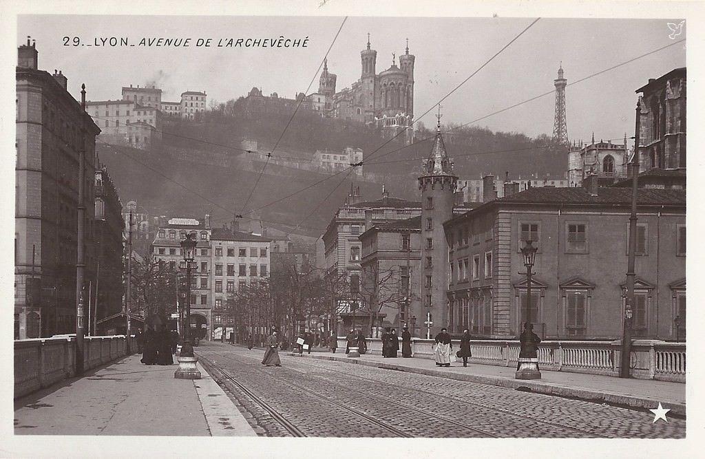 carte-postale-ancienne-Lyon. (avec images)   Paysage, Carte postale, Cartes postales anciennes