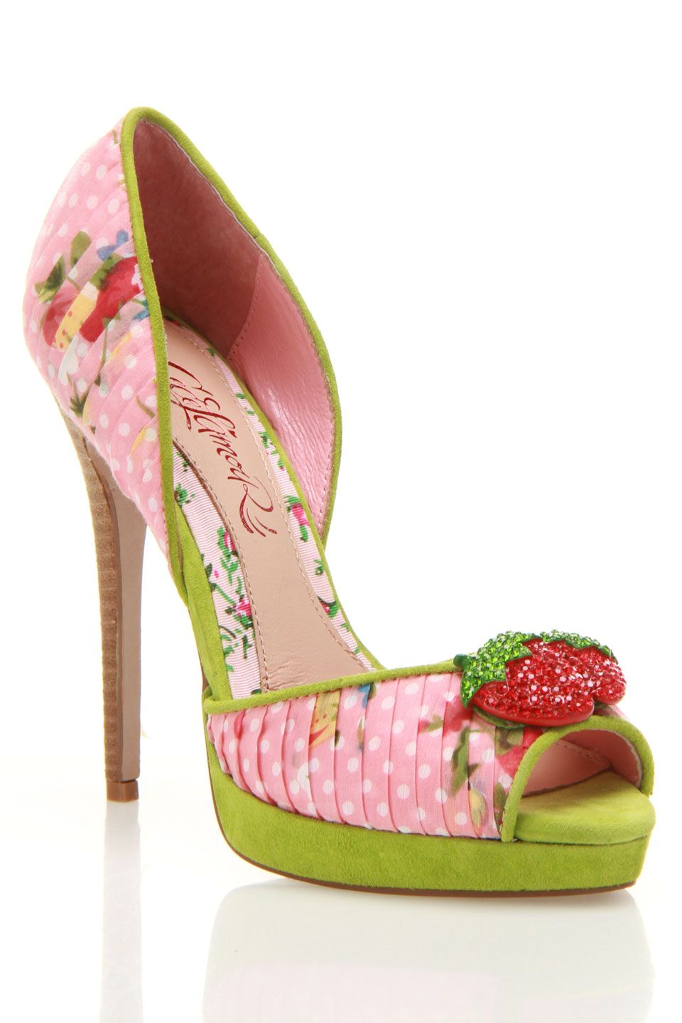Cece L'Amour Juls Pump In Pink Multicolor Shoes
